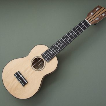 American Walnut and Spruce Soprano
