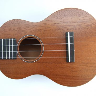 Mahogany Soprano with Ebony