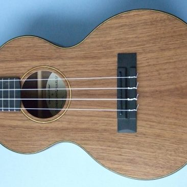 Tenor Ukulele in American Black Walnut