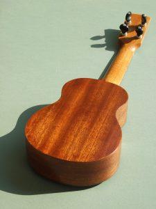 Soprano Ukulele in African Mahogany