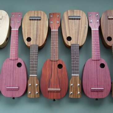 DJ Morgan Mini-Pineapple Ukuleles