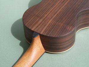 Indian Rosewood and Spruce Tenor Ukulele