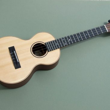 Indian Rosewood and Spruce Tenor Ukulele