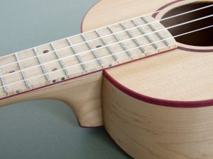 Birdseye Maple Tenor Ukulele