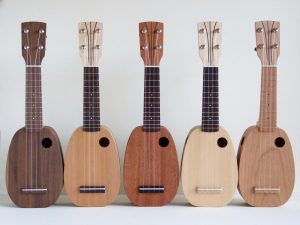 Mini Pineapples by DJ Morgan Ukuleles.