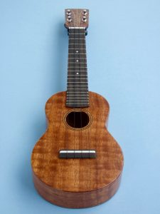 Soprano Ukulele in Figured Sapele