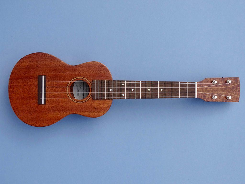 soprano ukulele in mahogany dj morgan ukuleles. Black Bedroom Furniture Sets. Home Design Ideas