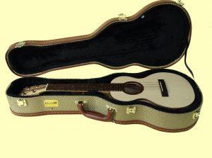 DJ Morgan Tenor ukulele including case