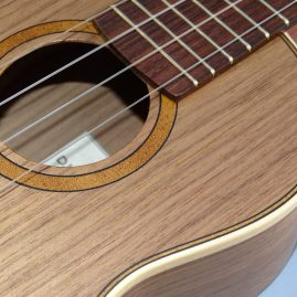 DJ Morgan Black Walnut Ukulele